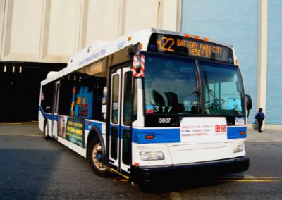 MTA, Michael J. Quill Bus Depot, New York, NY